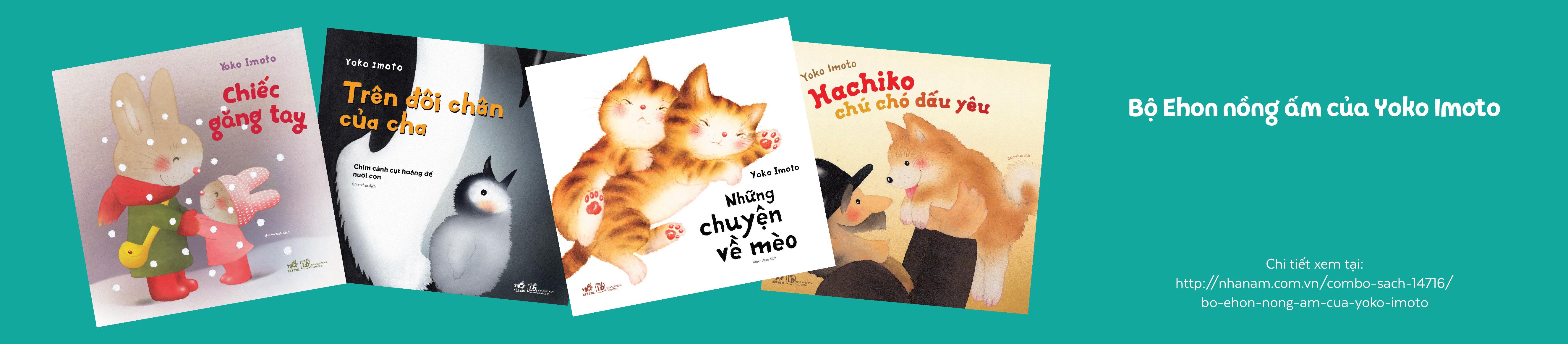 Bộ Ehon nồng ấm của Yoko Imoto( 4 quyển)