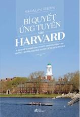 Bí quyết ứng tuyển vào Harvard