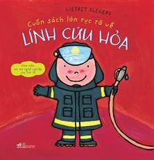 Cuốn sách lớn rực rỡ về lính cứu hỏa