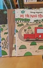 Bộ xe tải Đỏ - Ehon mẫu giáo