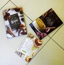 01. Trọn bộ Nhật ký học làm bánh (3 cuốn)