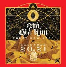 Lịch để bàn Nhà Giả Kim 2021